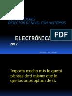 1. Comparador - Detector Nivel Histerísis