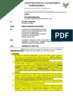 Informe-35 Observaciones Occoruro Liquidacion