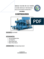 Informe de Compresores