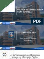 3.Ley de Transparencia y del Derecho de Acceso a la Información Pública Nacional en el marco de la políticas de relacionamiento Estado-Ciudadano.pptx