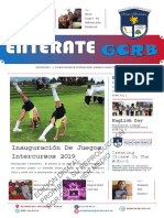 ENTÉRATE GCRB PRIMER BIMESTRE 2019