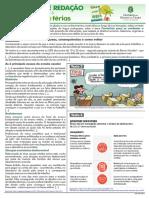 PROPOSTA DE REDAÇÃO TEMA 06