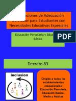 Orientaciones de Adecuación Curricular Para Estudiantes Con Necesidades