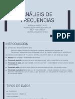 Análisis de Frecuencias info