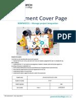 Assessment - Bsbpmg521 - Task 1
