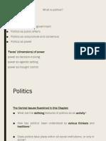 Politics as..