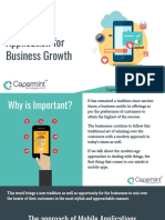 How Mobile Application is More Important for Your Business Growth in 2019