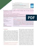 Safety Profile of Black Shilajit 91 Days in Rats