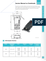 especificação tecnica termostato de encosto