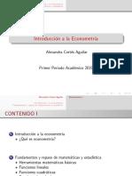 Alexacor Fundamentos Introduccion a La Econometria