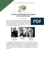 Burad +Bases +Neurobiologicas Lenguaje Sordos 2009