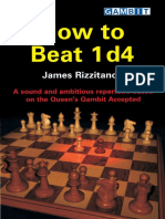 James Rizzitano - How to Beat 1 d4