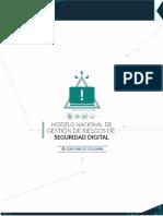 Modelo Nacional de Gestión de Riesgos de Seguridad Digital