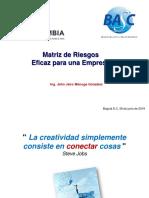 Matriz de Riesgos Pro Colombia