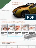 新しいコンセプトモデリングツールAlias SpeedForm