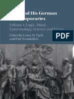 Kant and His German Contemporar - Corey W. Dyck.pdf