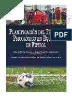 Muestra e Book Planificación Del Trabajo Psicológico en Equipos de Fútbol.