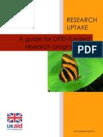 Closed contact Reserch Uptake .pdf