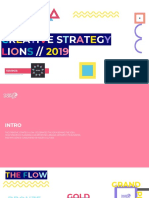 Creative Strategy Lions Deck  2019