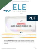 DADOMANÍA_ Jugando con dados en la clase de ELE - ELEInternacional.pdf