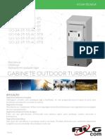 Datasheet Gabinetes Turboairpor