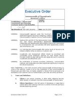 Customer First Executive Order 072419