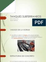 TANQUES SUBTERRANEOS