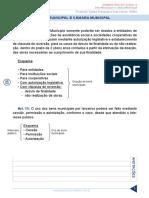 Resumo 872865 Gilcimar Rodrigues 46898325 Lei Organica de Salvador Aula 05 Bem Municipal e Camara Municipal