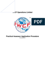 AC-0006 Practical Assessor Application Procedure
