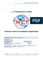 AC-0086 Primary Centre Accreditation Application