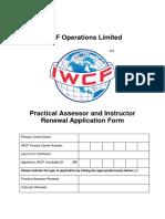 AC-0024  Instructor Application Form