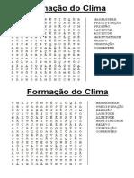 Formação Do Clima