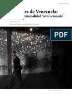 Prisiones en Venezuela Pranes Criminalidad Revolucionaria