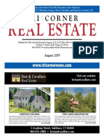 TriCorner Real Estate - August 2019