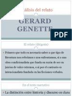Gerard Genette ANALISIS DEL RELATO