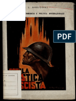 Corporativismo Commercio e Politica Internazionale 1936