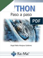 Python paso a paso - Angel Pablo Hinojosa Gutiérrez.pdf