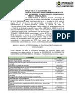 alteração edital ifpr