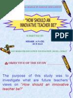 innovative teacher