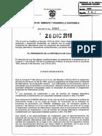 Decreto 2462 Del 28 de Diciembre de 2018 Energias Alternativas