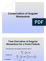 25.Conservation of Angular Momentum (Slides)