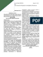 Reglamento General de Hospitales de la República Dominicana 2001