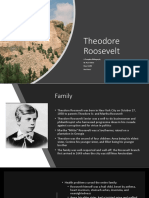 Theodore Roosevelt Bibliography