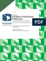 Revista Estado y Politicas Publicas Nº 11