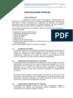 ESPECIFICACIONES TECNICAS POSTA LOCAL