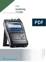 R&S®PR100 Portable Receiver