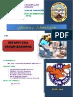 organización de empresas constructuras