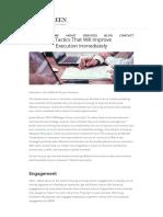 3 Tactics That Will Improve Execution Immediately - Linkedln.pdf