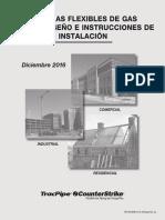 Guia para instalacion de tuberias de gas flexible