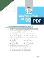 Aldehyde Class 12